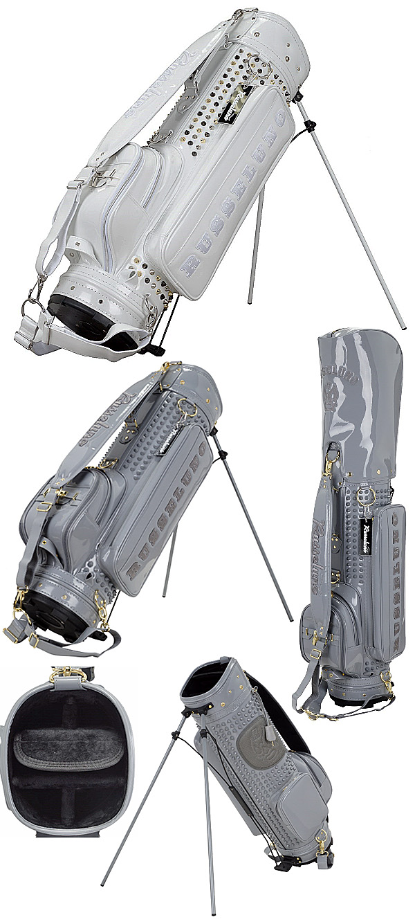 22361cf4ca24 RUSSELUNO 2018 Studs Stand Caddie Cart Bag - Golf Japan - Pro Golf Japan