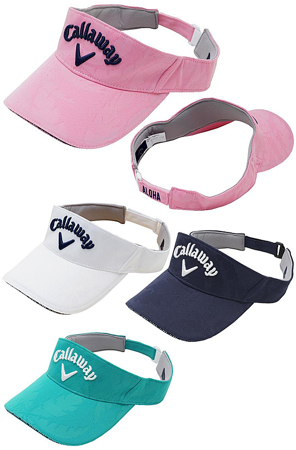 Sales! Callaway Golf Japan 2018 Palm Pattern Sun Visor - Golf Japan - Pro  Golf Japan cffe686a85f1