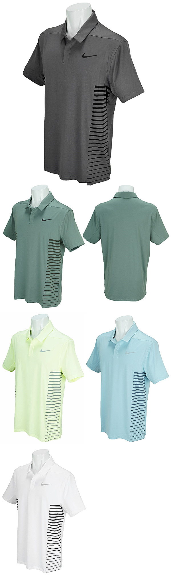 aa8f18200aa7 Nike Golf Japan 2018 Spring Summer DRI-FIT Print Short Sleeves Polo Shirt - Golf  Japan - Pro Golf Japan
