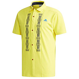 042ef6838ba2 Adidas Golf Japan 2018 Spring Summer Embroidery Short Sleeves Polo Shirt