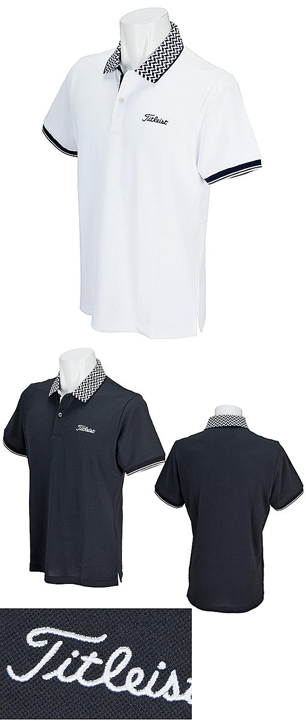 34a24a597 Titleist Golf Japan 2018 Spring Summer Stretch Kanoko Short Sleeves Polo  Shirt - Golf Japan - Pro Golf Japan