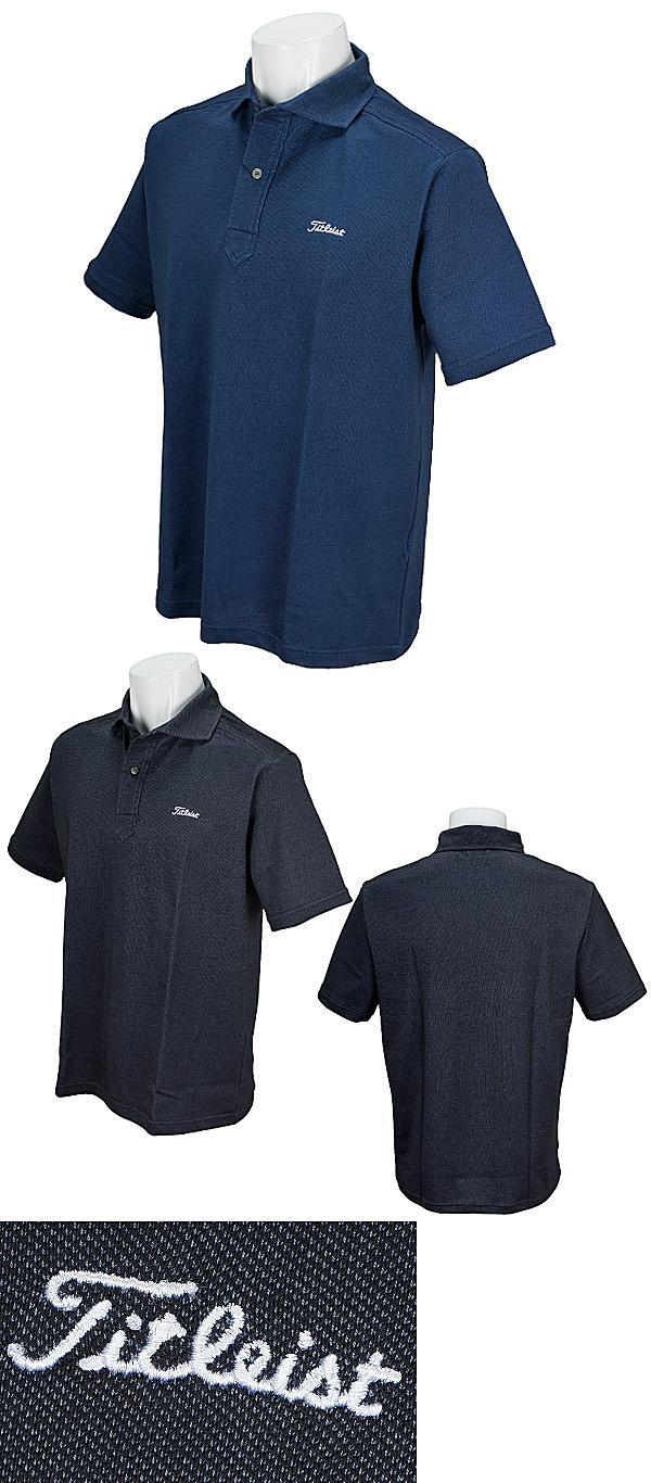 776547c17 Titleist Golf Japan 2018 Spring Summer Horizontal Collar Kanoko Short  Sleeves Polo Shirt. Cotton 55%